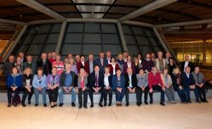 Die Gäste aus Nienburg und Schaumburg