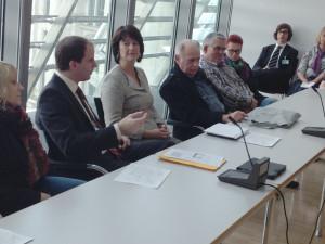 Diskussionen mit der FU Schaumburg