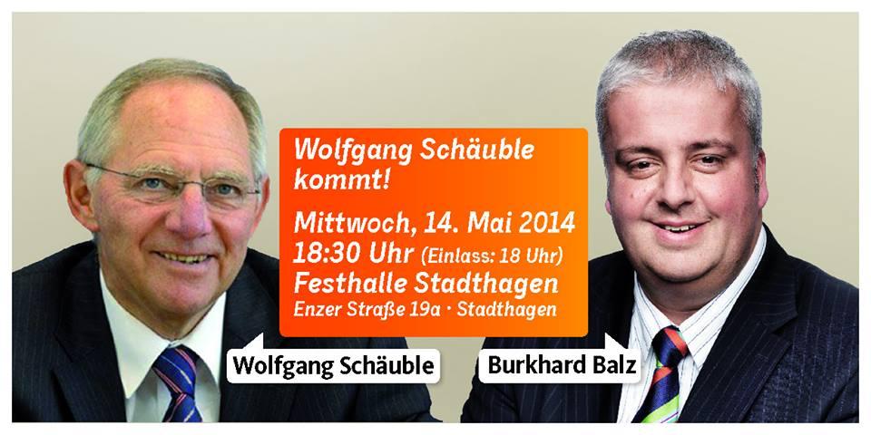 Aufruf Schäuble