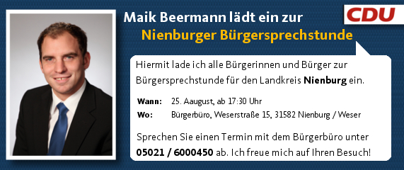 2014 8 25 Bürgersprechstunde FB