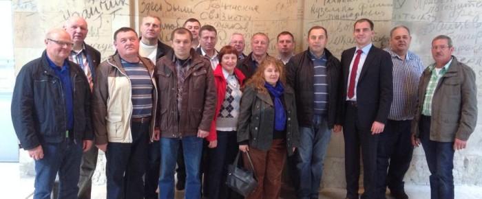 Liebenauer Erde in Berlin und Besuch aus Weißrussland