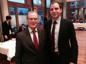 Präsident der Bundesnetzagentur Jochen Homann und Maik Beermann