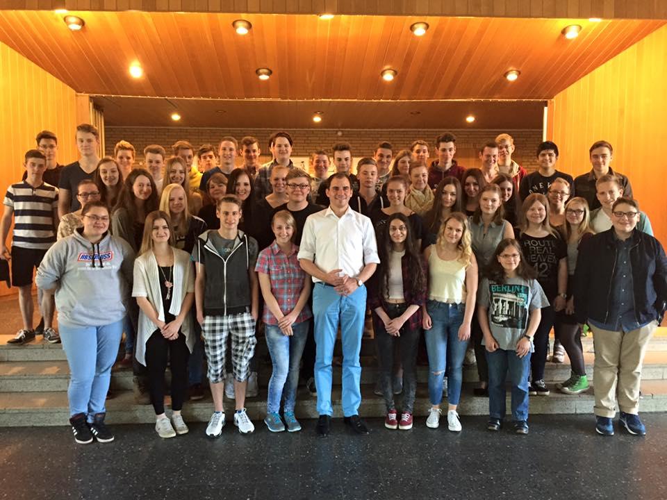 Gruppenfoto Realschule Langendamm 10. Klasse 2015