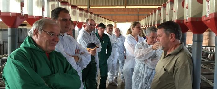 Tour de Maik: Besuch auf einem landwirtschaftlichen Betrieb