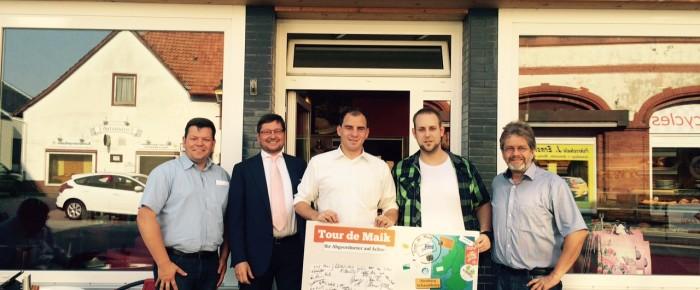 Tour de Maik: Besuch beim jungen Bäckermeister