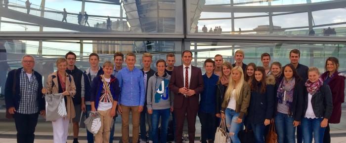 Schüler aus Bad Nenndorf zu Besuch