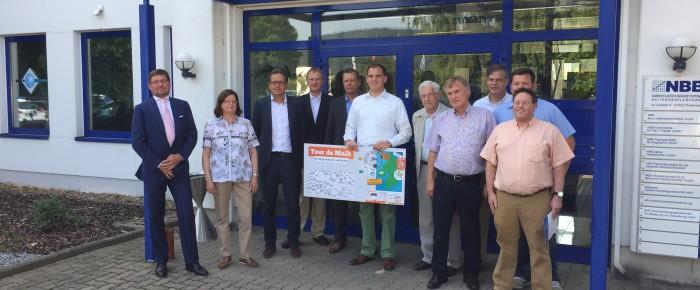 Tour de Maik: Firma NBB in Rodenberg