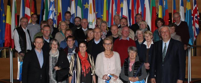 Vom höchsten politischen Gipfel bis unter den Rhein