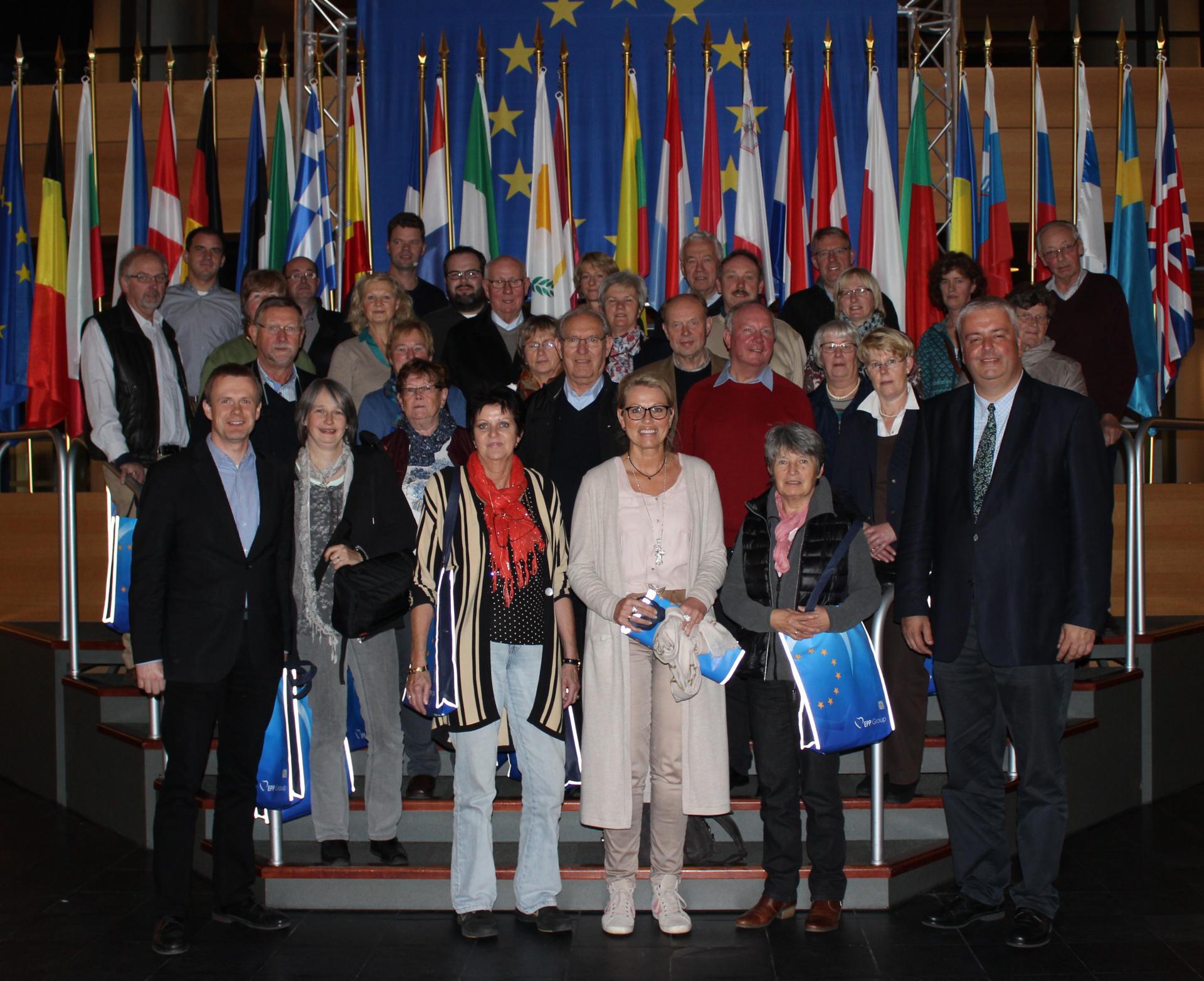 Gruppenfoto Europaparlament