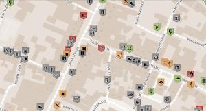 Wheelmap Ausschnitt Nienburg Innenstadt