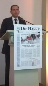 Maik Beermann Harke Nejahrsempfang