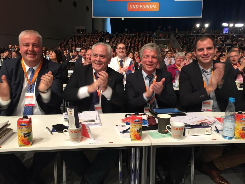 PM Bundesparteitag