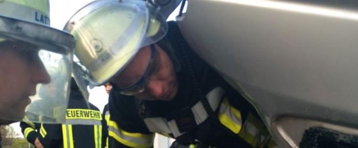Einsatz bei der Freiwilligen Feuerwehr Lauenau
