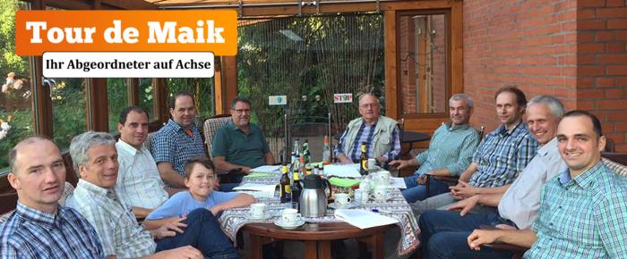 Tour de Maik: Gespräch mit Sauenhaltern