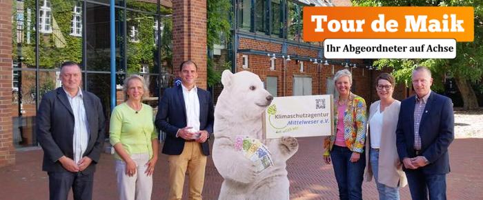 Tour de Maik: Klimaschutzagentur e.V.