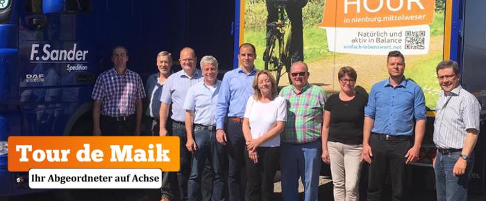 Tour de Maik: Spedition Frank Sander