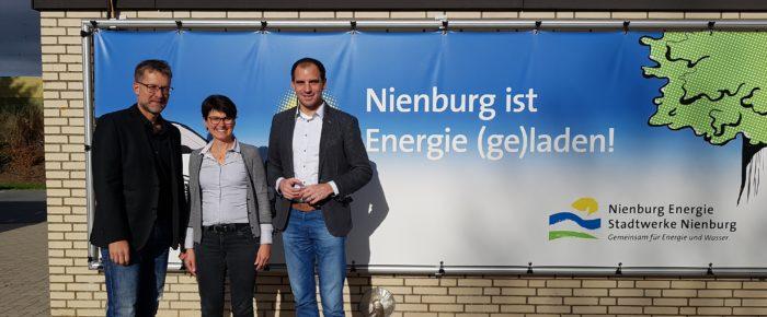 Stadtwerke Nienburg präsentieren Beermann ihr E-Mobilitätskonzept