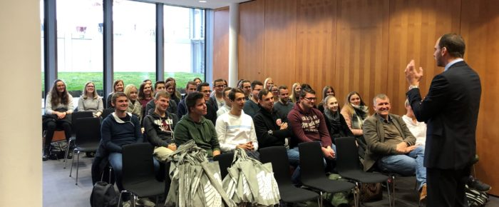 Angehende Bankkaufleute der BBS in Berlin